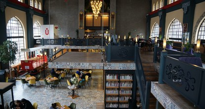Book cafes: New hot spots for Istanbul's youth