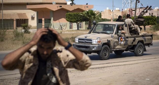 قوات الوفاق تعلن أسر 5 من قوات حفتر جنوبي طرابلس