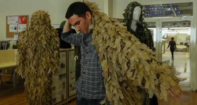 قماش عسكري تركي يخفي الجنود والمعدات العسكرية عن الرادارات والكاميرات الحرارية --1510993027039
