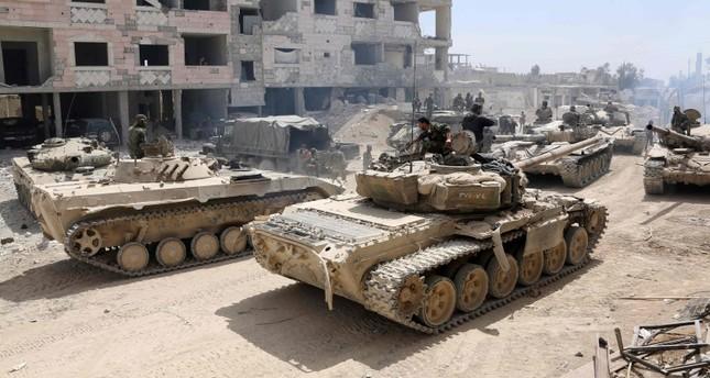 قوات النظام السوري في غوطة دمشق (أرشيف)