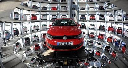 رسوم ترامب قد تخفض صادرات السيارات الألمانية إلى واشنطن للنصف
