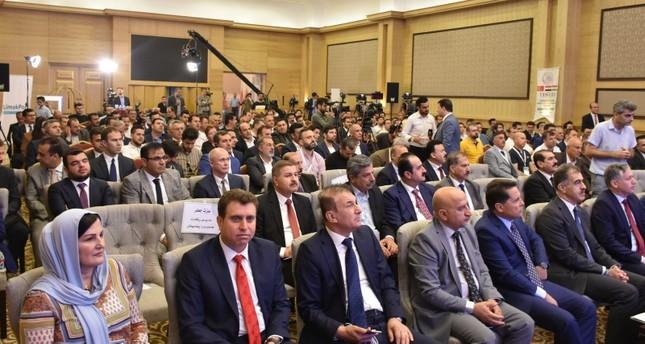 انطلاق ملتقى الاستثمار والتجارة بين إقليم شمال العراق وتركيا في أربيل