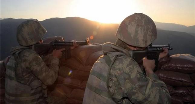 شهيدان من الجيش التركي بانفجار لغم زرعه إرهابيو بي كا كا