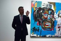 Basquiat painting sold for record $110.5M