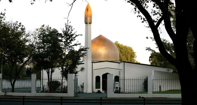 A view of the Al Noor Mosque on Deans Avenue in Christchurch, New Zealand, taken in 2014.  (REUTERS/SNPA/Martin Hunter)