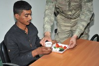 Surrendered terrorists taken care of, provided food by Turkish security forces