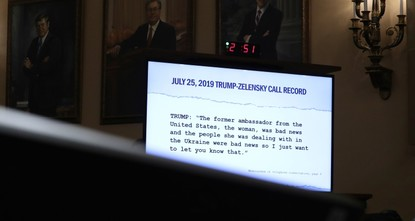 White House releases transcript of first Trump-Zelenskiy call