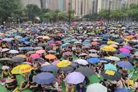 الاحتجاجات في هونغ كونغ (الأناضول)