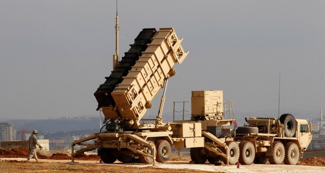 A U.S. Patriot missile system is seen at a Turkish military base in Gaziantep in this February 5, 2013 file photo. (Reuters Photo)