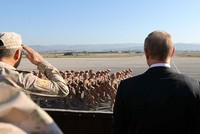 Russia begins establishing permanent military presence at Syria bases