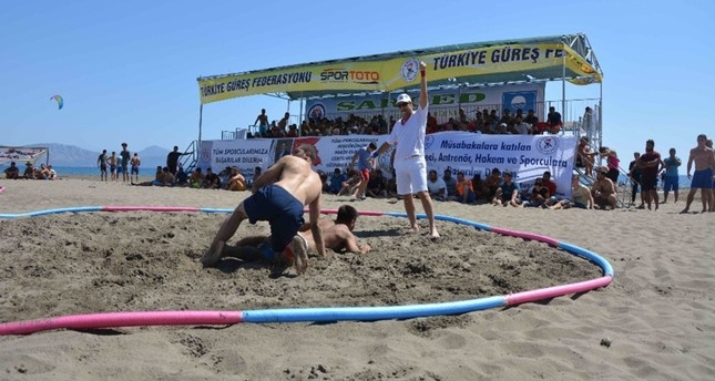 World's beach wrestlers coming to İztuzu