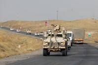 انسحاب الجيش الأمريكي من المناطق السورية الشمالية (الأناضول)