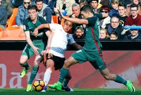 The playmaking of new arrival Fabian Orellana inspired Valencia to a much-needed 2-0 victory over Athletic Bilbao in the Spanish league on Sunday.