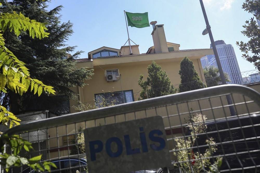 Jamal Khashoggi was last seen entering the Saudi consulate building in Istanbulu2019s Levent district.