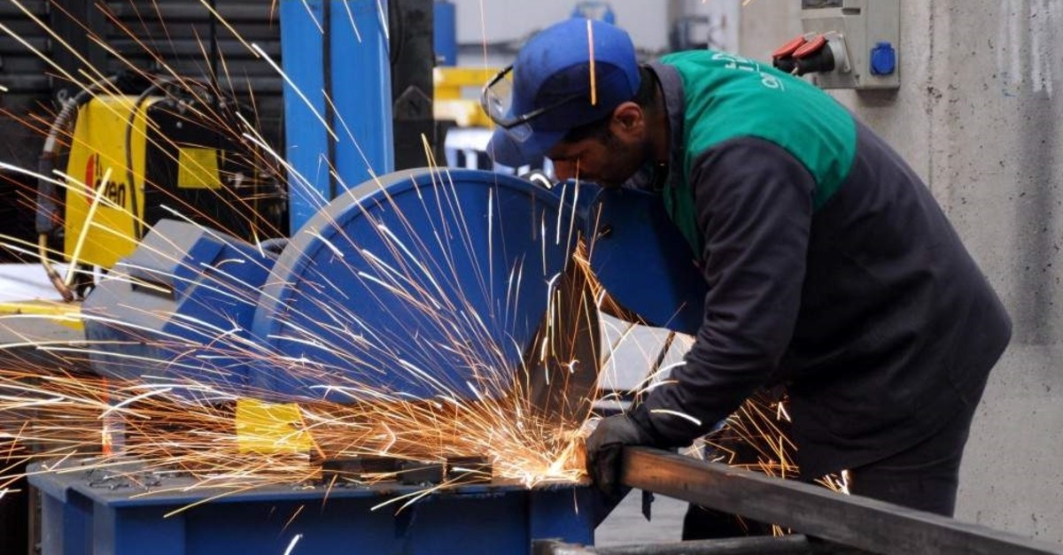 Turkey's calendar-adjusted industrial production soared 5.1% year-on-year in November 2019, promises more growth this year. (AA Photo)