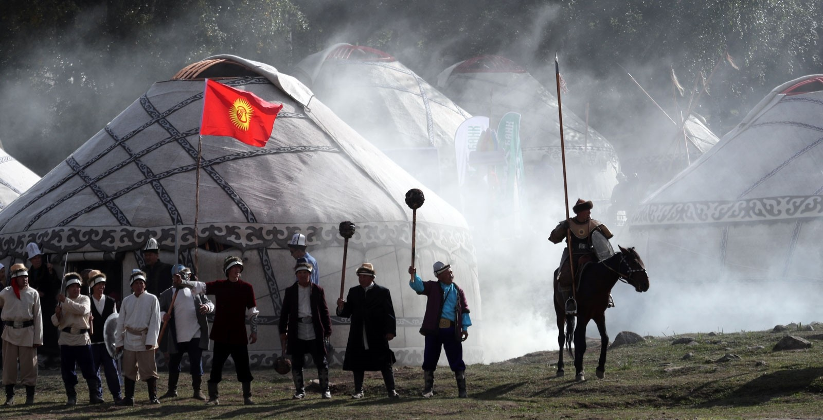 Kyrgyzstan kicks off third World Nomad Games