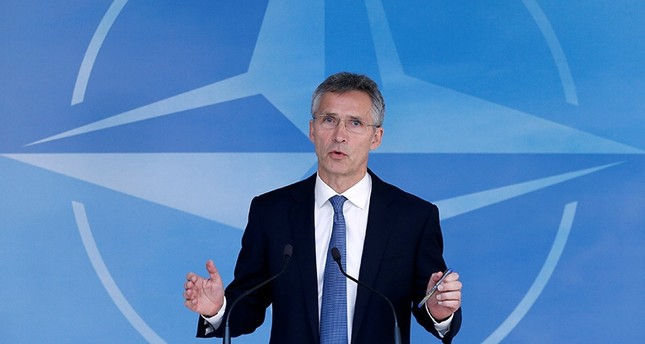 NATO Secretary-General Jens Stoltenberg briefs the media during a NATO defence ministers meeting at the Alliance headquarters in Brussels, June 14, 2016. (Reuters)