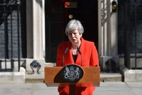 Theresa May says will resign as prime minister, Conservative leader on June 7