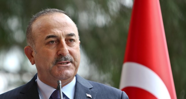 Foreign Minister Mevlüt Çavuşoğlu (L) said the U.S.'s unfulfilled promises concerning Manbij and of the issues, including the Gülenist Terror Group (FETÖ), have caused a loss of trust between the two allies.