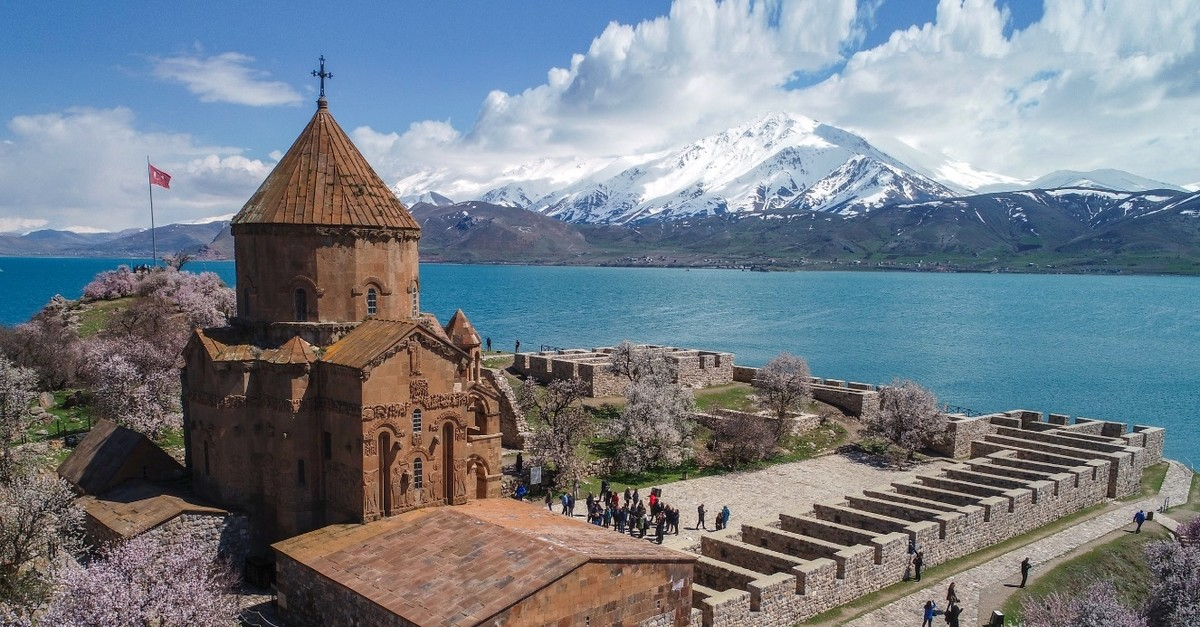 Built in the 10th century, Akdamar Church is one of the best examples of Armenian architecture.