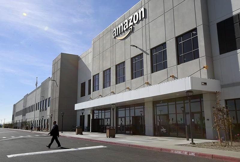The new Amazon Fulfillment Center is seen in Sacramento, Calif. (AP Photo)