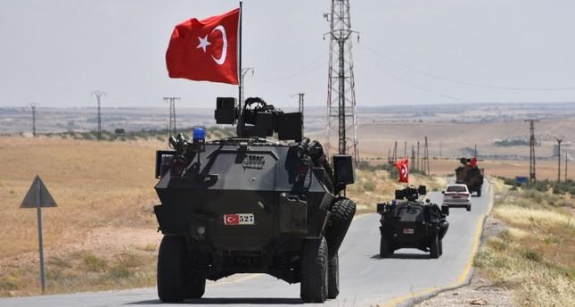 القوات التركة والأمريكية تنهي دورية تاسعة في منبج السورية