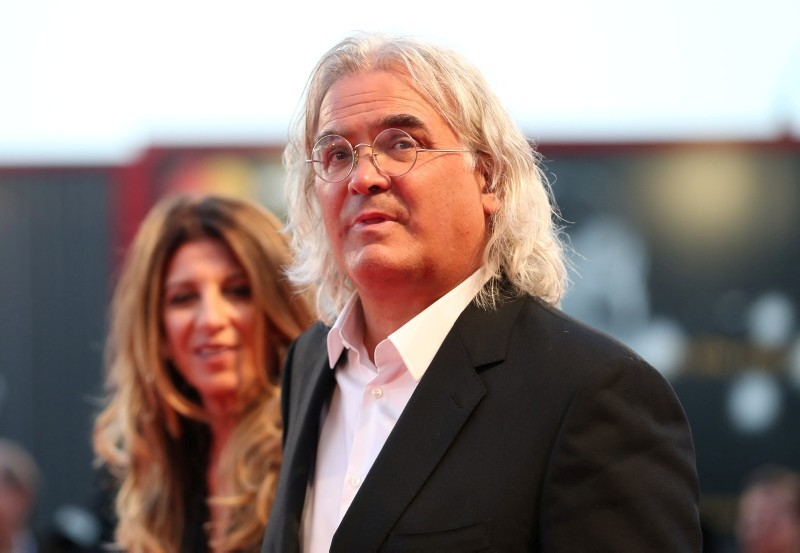 Director Paul Greengrass arrives at the screening of the film ,22 July, during the 75th Venice Film Festival at Venice Lido. (Reuters Photo)