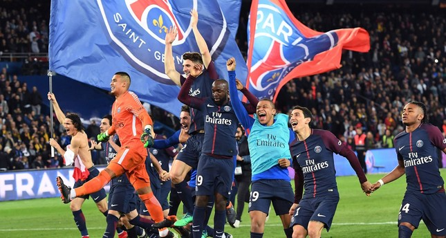باريس سان جيرمان يتوج بلقب الدوري الفرنسي للمرة السابعة