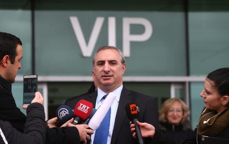 Israeli ambassador Eitan Na'eh  (AA File Photo)