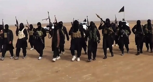 An image grab taken from a propaganda video of the Daesh terror group. (AFP Photo)