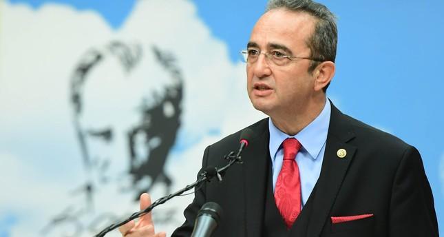 CHP spokesperson Deputy Chairman Bülent Tezcan. (DHA Photo)