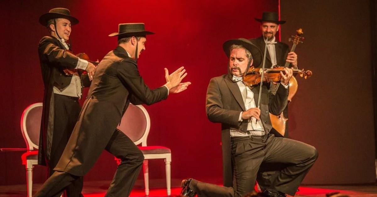 Pagagnini will perform at Istanbul's Cemal Re?it Rey Hall on Dec. 9.