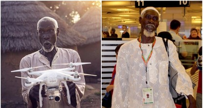 pAl-Hassan Abdullah, a poor Ghanaian villager whose story went viral on Turkish social media when he asked a TV crew if a drone can take him to Mecca will travel to the Muslim holy land courtesy of...