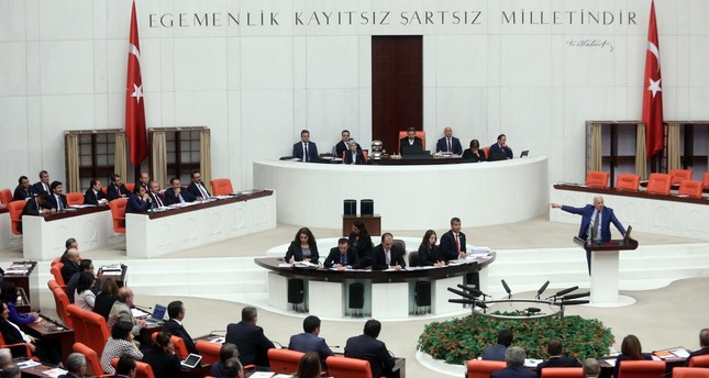 Grand National Assembly of Turkey (DHA Photo)