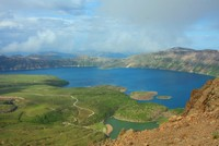 Nemrut Crater Lake: Touch of nature hidden on mountain