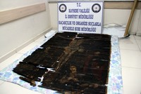 Turkish police seize 13th century woven painting