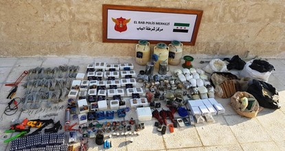 Explosives nabbed in Daesh bomb workshop in Syria