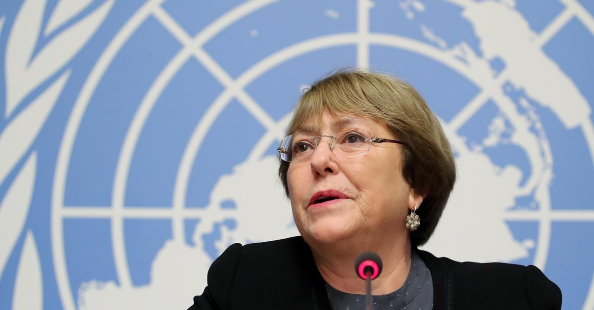 U.N. High Commissioner for Human Rights Michelle Bachelet attends a news conference at the United Nations in Geneva, Switzerland, Decemer 5, 2018. (Reuters Photo)
