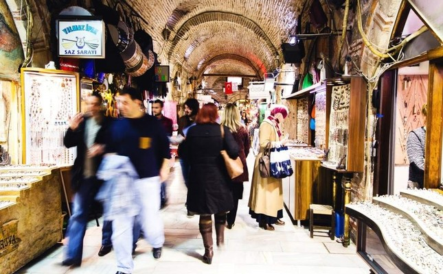 Built in the 17th century, Kemeraltı Bazaar is still the heart of Izmir's trade scene. iStock Photo