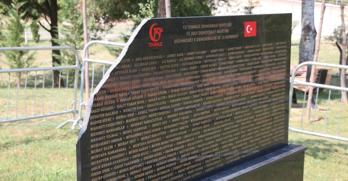 The monument was damaged by an unknown assailant on Aug. 30, 2019.