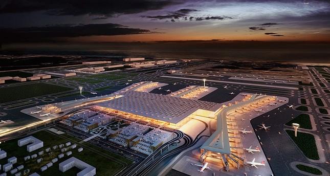 مطار إسطنبول الثالث يحصل على جائزة التصميم في مهرجان العمارة العالمي
