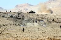 قوات من جيش النظام السوري في جرود عرسال اللبنانية (من الأرشيف)