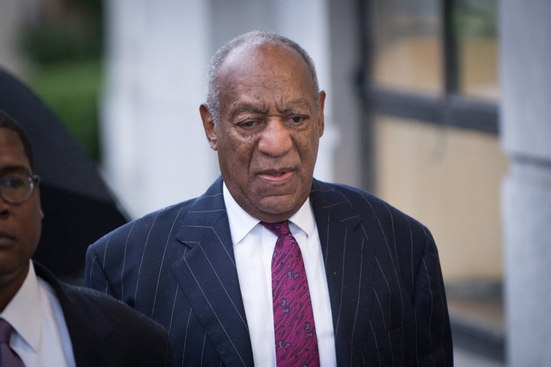 Bill Cosby arrives for his sentencing hearing at the Montgomery County Courthouse, Tuesday, Sept. 25, 2018, in Norristown, Pa. (EPA Photo)