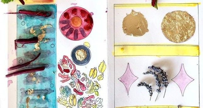 Participants of the Healing Pages workshop will recreate old manuscripts with natural inks.
