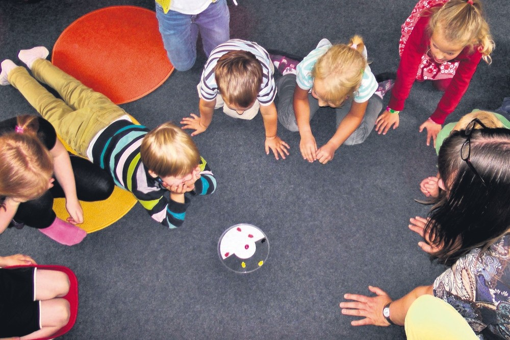 In the new interactive toy museum, children will learn while playing with their peers.
