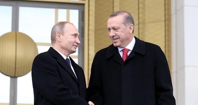 Russlandtag: Erdoğan schickt Brief an Putin