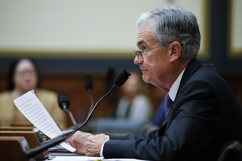 Federal Reserve Board Chairman Jerome Powell testifies during the House Financial Services Committee on hearing on u00e2u20acu02dcMonetary Policy and the State of the Economyu00e2u20acu2122 on Capitol Hill in Washington, DC, USA, July 18, 2018. (EPA Photo)
