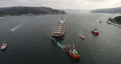 Oil and gas transit boom endangers Turkish Straits