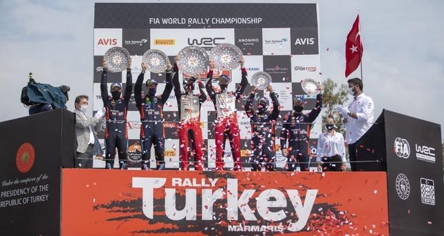 البريطاني اليفن ايفانز يفوز برالي تركيا