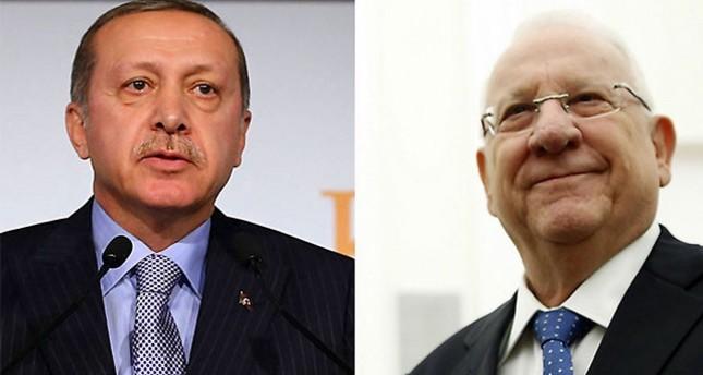 الرئيس الإسرائيلي يشكر أردوغان على المساعدة في إخماد الحرائق